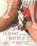 Le chat botté de rouge